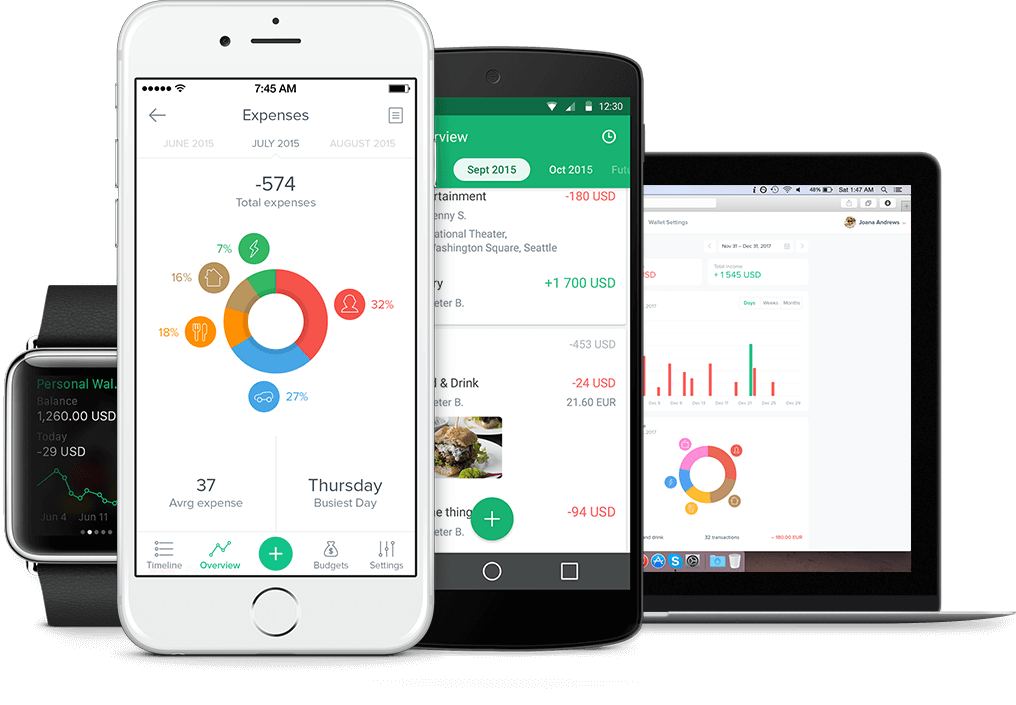 This app helps you track your budget & spendings effectively