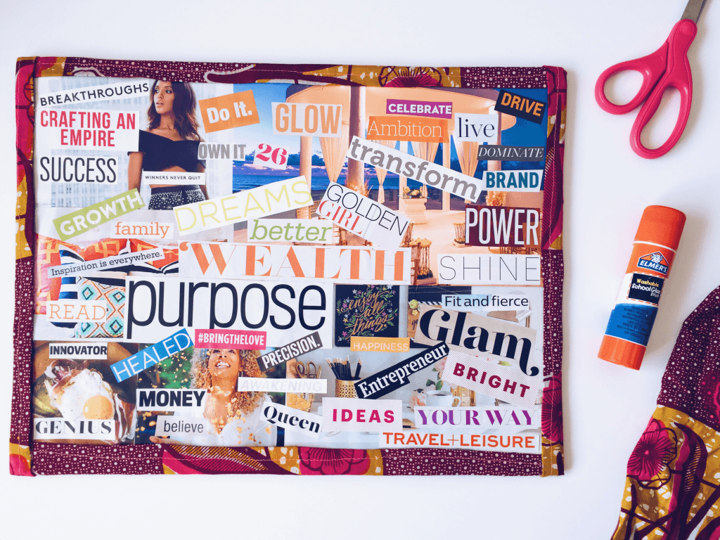 How to make your own vision board